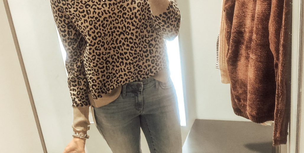 Styling a leopard sweater